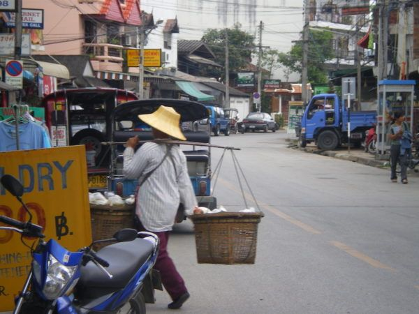 The old city of Chiang Mai, 10 years ago