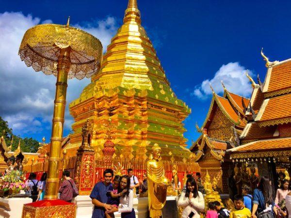 2017 Doi Suthep temple, Chiang Mai