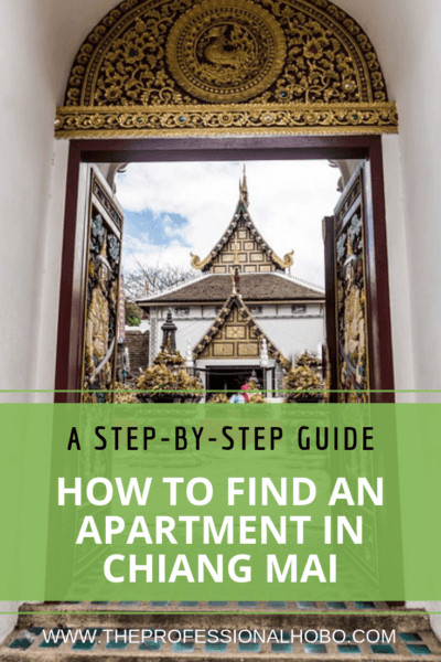 Want to spend a few months in Chiang Mai with lots of other digital nomads? This guide walks you through finding Chiang Mai apartments quickly and easily! #Full-TimeTravel #FullTimeTravel #MakingMoneyWhileTraveling #LocationIndependent #DigitalNomad #TravelWebsites #TravelTips #ChiangMai #Thailand #AsiaTravel #WhereToLive #WhereToStay #AccomodationGuide #Nimman #DigitalNomads #ChiangMaiCondo #ChiangMaiApartments