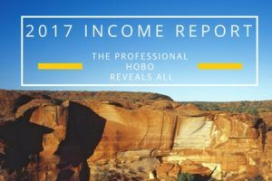 2017 Income report for The Professional Hobo