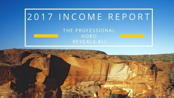The Professional Hobo Reveals All: 2017 Income Report