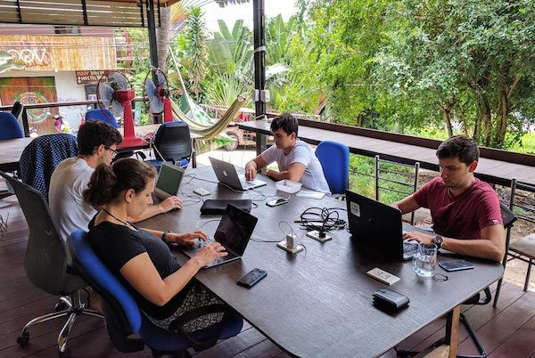 Coding in the jungle - Koh Tao, Thailand