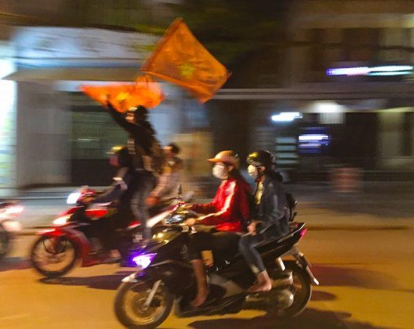 after-game celebrations in Hoi An Vietnam