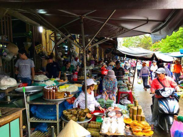 Hoi An fresh market, Vietnam