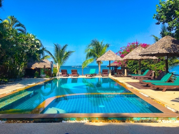 trouble in paradise, Koh Phangan Thailand