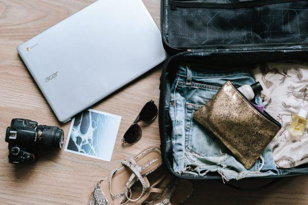 Packing a laptop for freelance writing while traveling