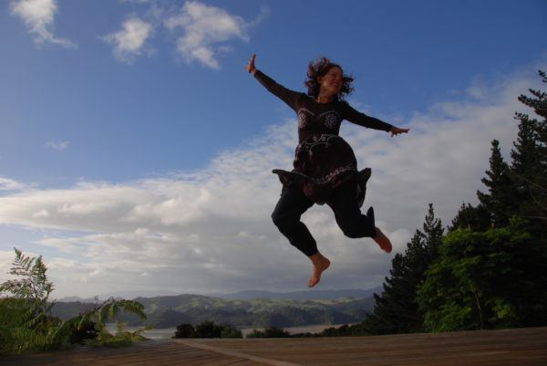 Jumping for joy with all this free accommodation