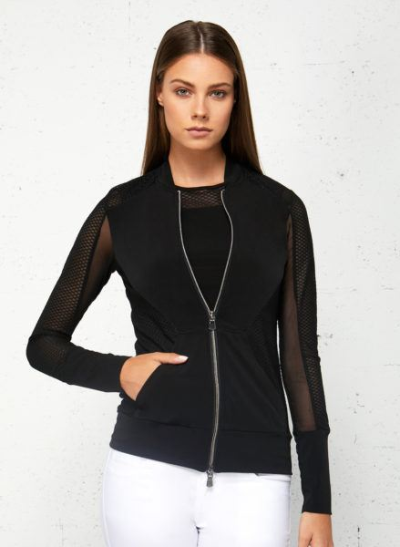 The best in Wrinkle Free shirts and jackets: Anatomie's Gracie Mesh Jacket