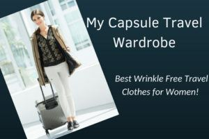 My Anatomie Travel Capsule Wardrobe: Best Wrinkle Free Travel Clothes for Women