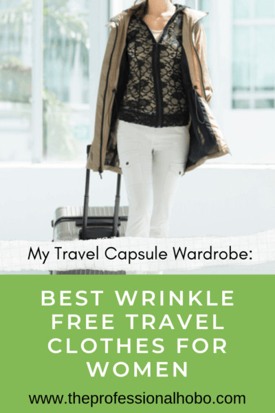 Here is the secret to my ultra-light packing strategies - it's my travel capsule wardrobe, made up of wrinkle-free travel clothes for women, made by Anatomie designer travel clothes. My entire travel wardrobe is almost exclusively made by these guys. Here's why! #travel #ultralighttravel #carryontravel #anatomie #designertravelclothes #travelclothes #wrinklefree #travelcapsulewardrobe #capsulewardrobe #besttravelclothes