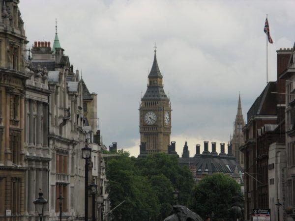 clocktower in London, England, UK, 2018