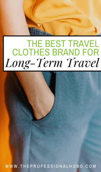 Cycling through cheap clothes while traveling becomes expensive over time. This brand makes the best travel clothes I've ever owned. Worth the investment! #Anatomie #FullTimeTravel - #TravelPlanning #BudgetTravel #TravelTips #TravelGear #TravelClothing