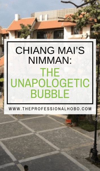 Chiang Mai is the Digital Nomad Centre of the Universe, and the neighbourhood of Nimman is the capital thereof. In two months of living in Nimman, I explored what makes Nimman the thriving bubble that it is today, for better or worse. #ChiangMai #Nimman #Thailand #ThailandTravel #DigitalNomads #FullTimeTravel #TravelPlanning #BudgetTravel #TravelTips #TravelLifestyleGuides #ExpatLife #LocationIndependence