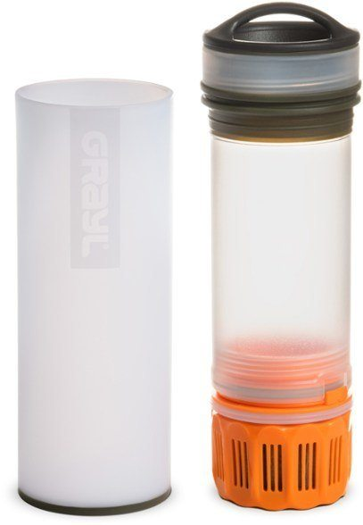 Grayl Ultralight Water Purifier – great for avoiding water parasites – grayl vs lifestraw