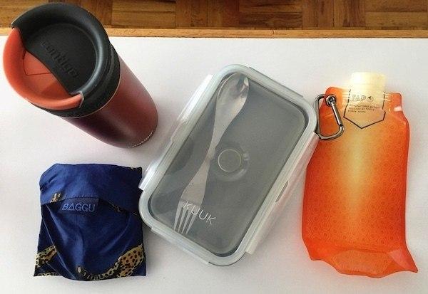 going zero waste with my zero waste kit