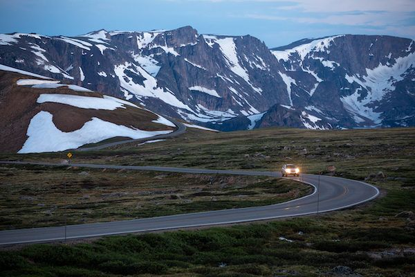Beartooth Pass, the most scenic drive in the U.S., through Montana's Beartooth Mountains