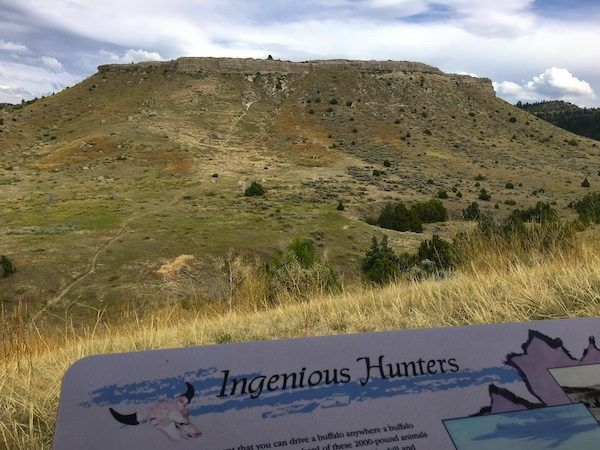 Madison Buffalo Jump State Park in Montana