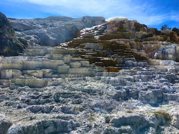 Mammoth Hot Springs Terraces, Yellowstone NP