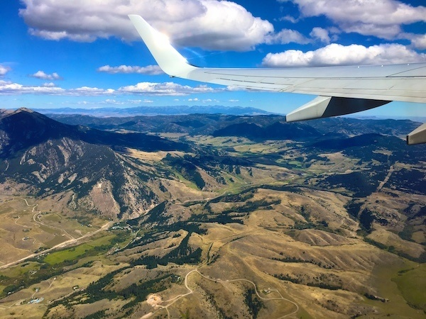 flying into Bozeman Montana - best airport to access Yellowstone