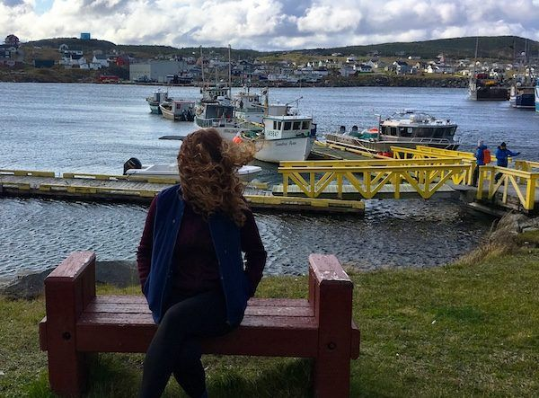 Bonavista Newfoundland on a windy day