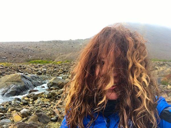 Gros Morne National Park on a windy rainy day