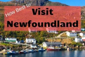 How Best to Visit Newfoundland