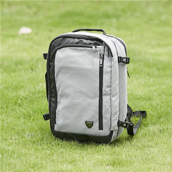 Combo Backpack grey – Best Small Backpack for Carry-on Travel