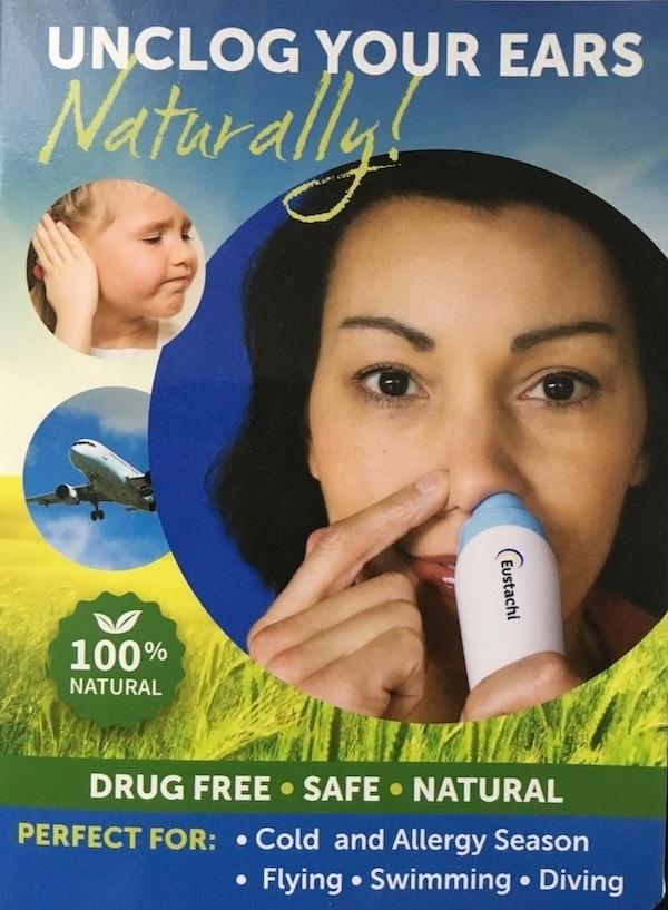 Eustachi Natural Solution for Unclogging Ears - Best Tool for Unclogging Ears Naturally