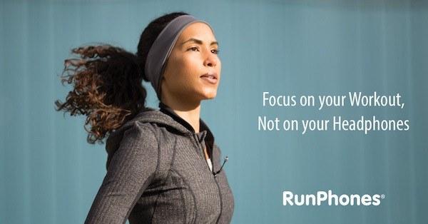RunPhones - best bluetooth headband headphones for exercising