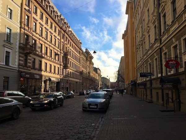 Delightful Riga City, outside of the Riga old town