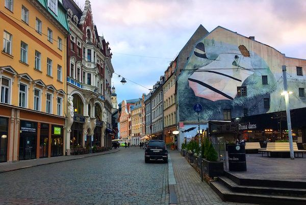 Riga Old Town Charm