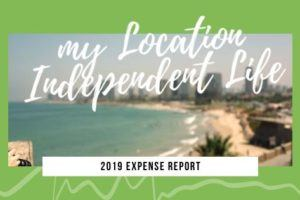 2019 Expense Report - The Location Independent Life of The Professional Hobo