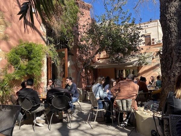 Boheme restaurant, Chania Crete