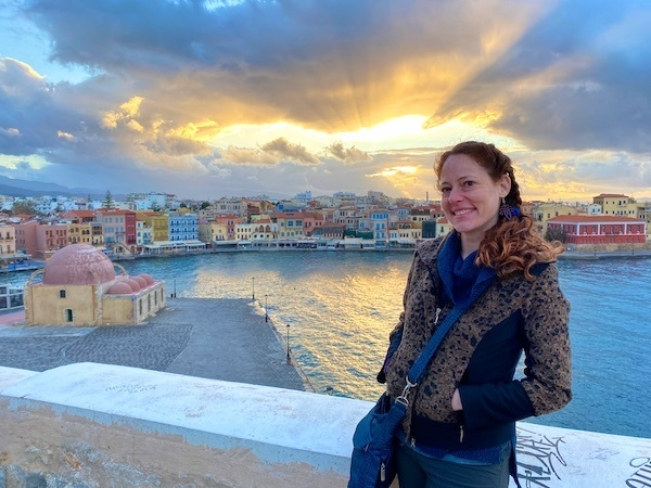 Chania sunset with the Bohemian Sunset Tour, a walking tour of Chania with Urban Adventures