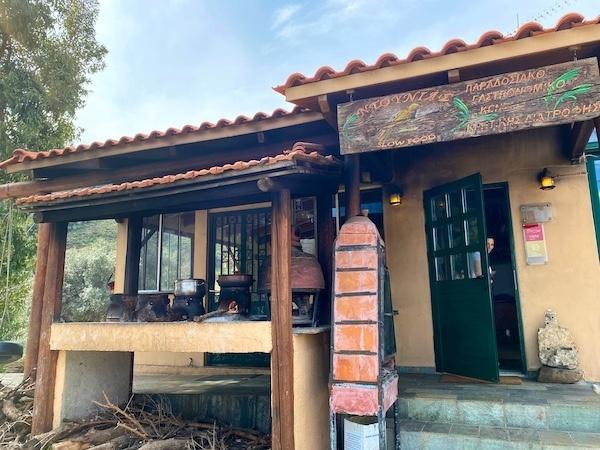 Ntounias restaurant, one of Chania's best restaurants