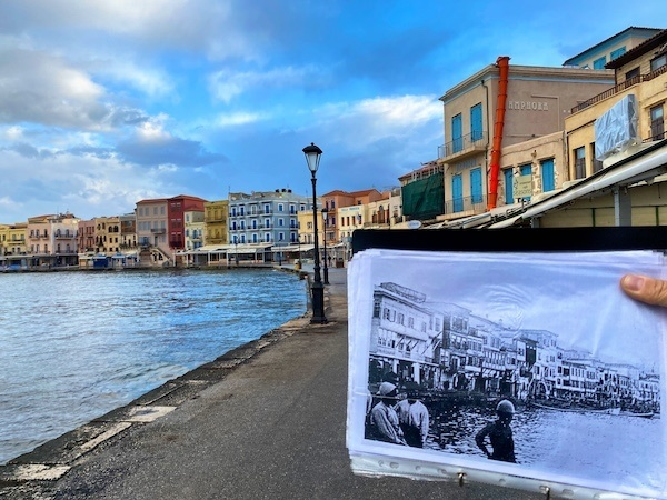 Old Venetian Harbour, Chania Crete