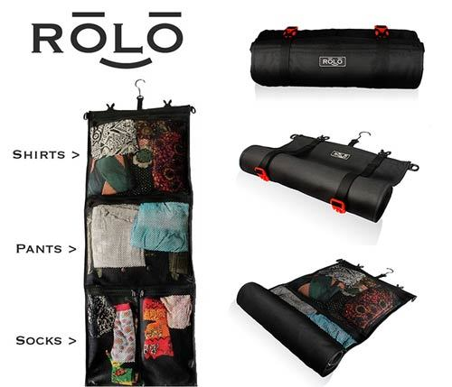 Rolo Roll-Up Garment Bag, Best Travel Clothes Organizer