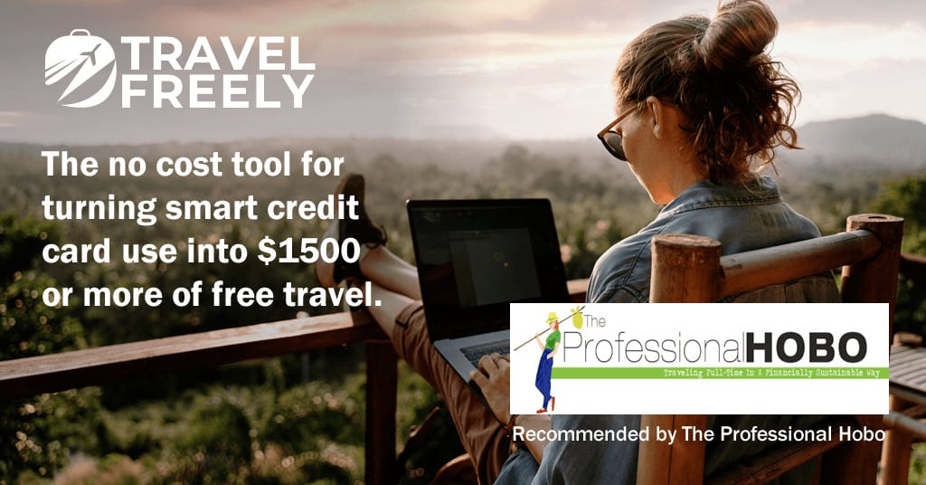 Travel Freely, as recommended by The Professional Hobo
