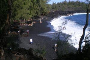 Kehena Beach on the Big Island of Hawaii