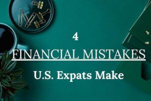 Expat Financial Mistakes