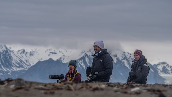 Sailing in the Arctic and filming 80 North Series