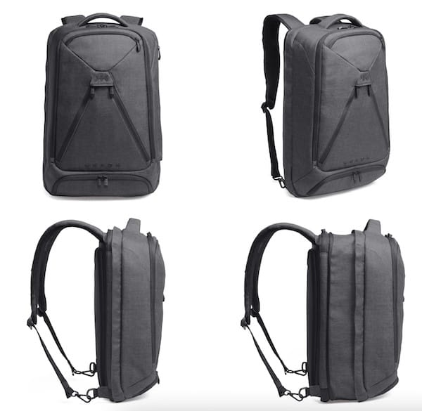 Knack Pack Expandable Backpack in Action