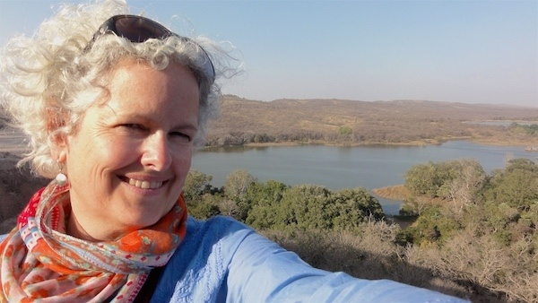 Solo Traveler Janice Waugh in Rishikesh