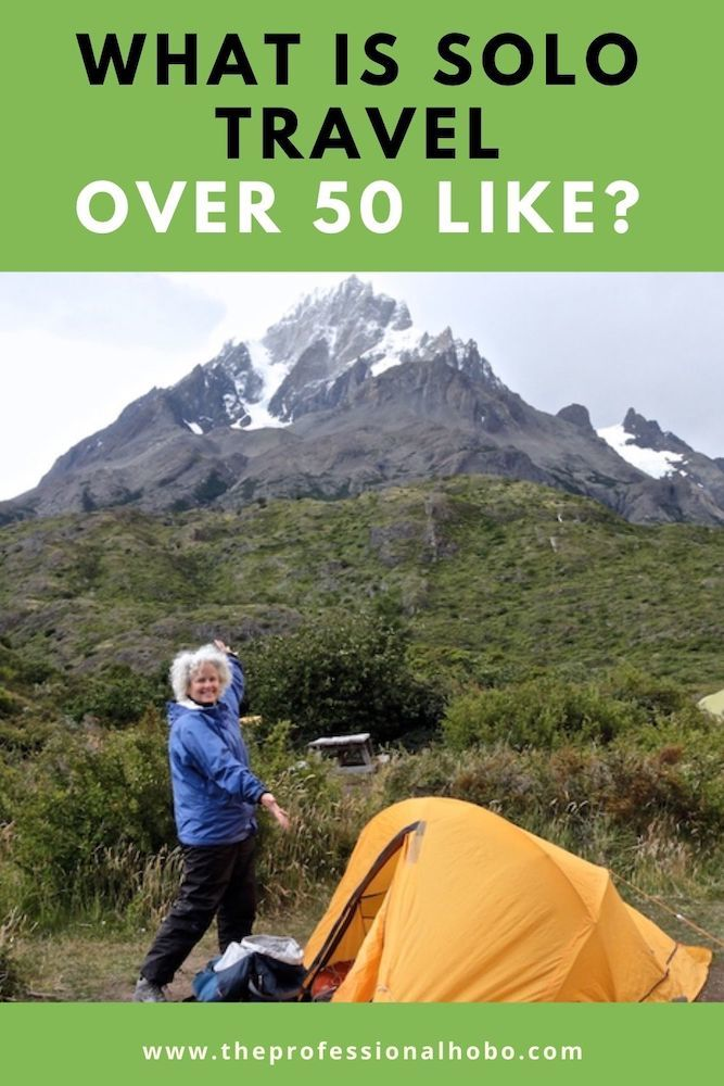 Solo travel over 50 can be daunting, but according to Janice Waugh of Solo Traveler, it is a rite of passage. Learn more here! #solotravel #50+travel #SoloTraveler #TheProfessionalHobo