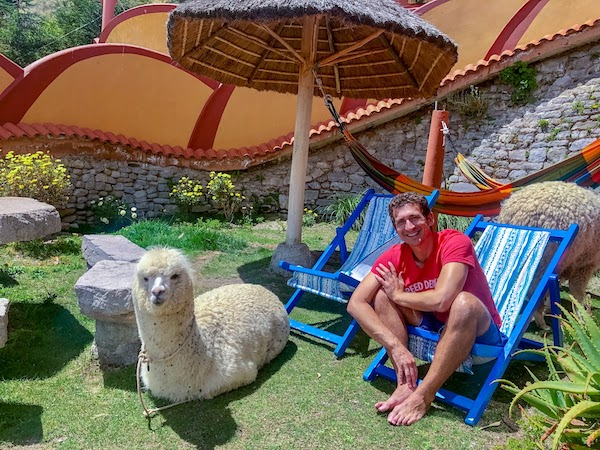 Wandering Earl, founder of Remote Club, hanging out with the locals