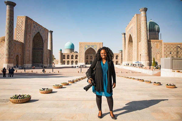 Lola Akinmade Akerstrom, travel writer and photographer, living with purpose