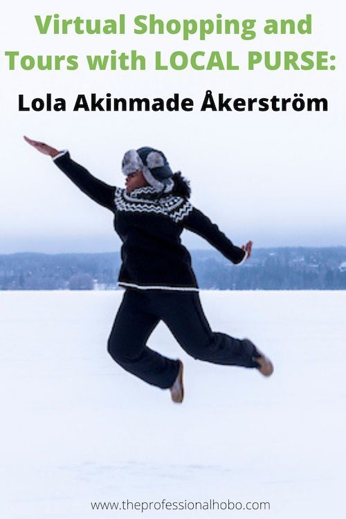 Lola Akinmade Åkerström co-founded Local Purse to help people around the world. She's also a best-selling author, TEDx speaker, award-winning photographer, and more. Check out this amazing interview! #LocalPurse #LolaAkinmade #Lagom #Nigeria #TheProfessionalHobo