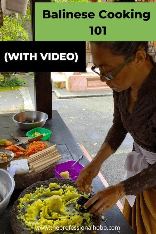 Learning about Balinese Cooking through this Withlocals experience was a highlight of my trip. #Balinesecooking #Bali #cookingclass #asianfood #TheProfessionalHobo