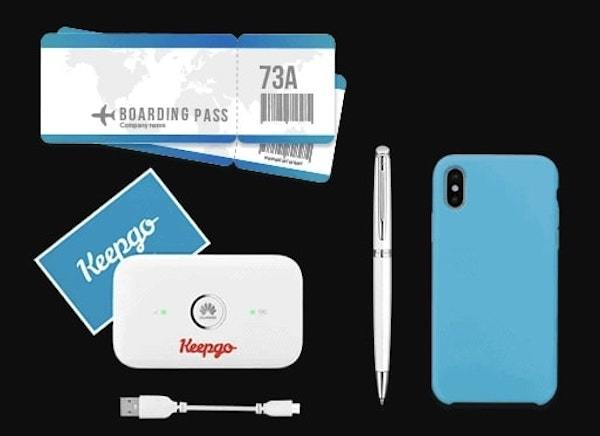 KeepGo Mobile WiFi Hotspot - Best Secure Way to Get Online Anywhere