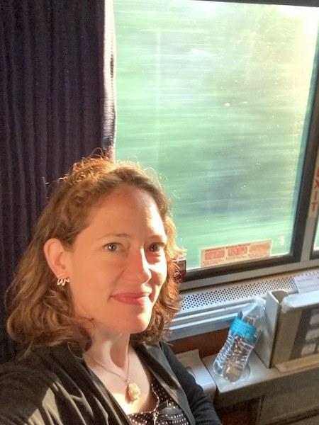 Nora Dunn on Amtrak Trains